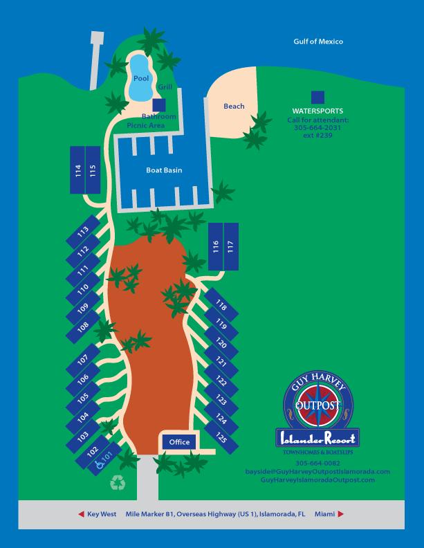Bayside Townhomes in Islander Resort