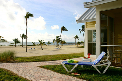 Beach House Chaise at Guy Harvey Outpost Resort in Islamorada