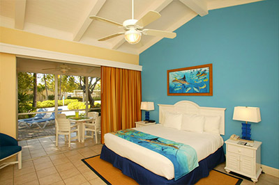 King Size Rooms at Guy Harvey Outpost an Islander Resort in Islamorada