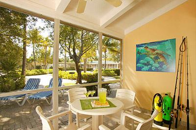 Lanai Villas at Islander Resort in Florida Keys