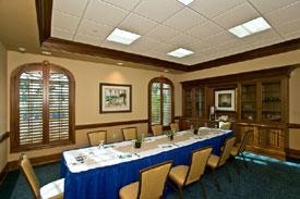 Boardroom for meetings, weddings, reunions at Islander Resort in Florida