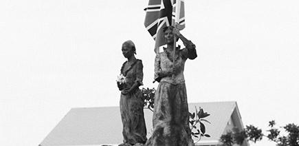 Loyalist Memorial Statue Garden