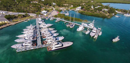 Bahamas Marina and Boat Docks