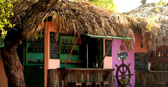 Dougie's Bar in Jamaica
