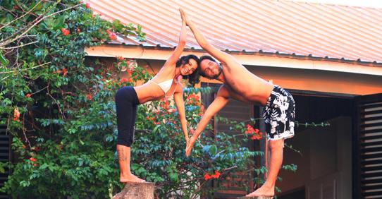 Yoga at Jakes Hotel, Jamaica