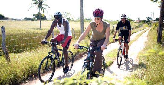 Cycling at Jakes Hotel, Jamaica