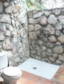 Spacious Garden Bathroom