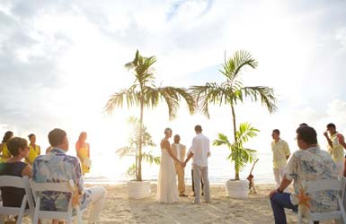 Wedding at Fernandez Bay Village