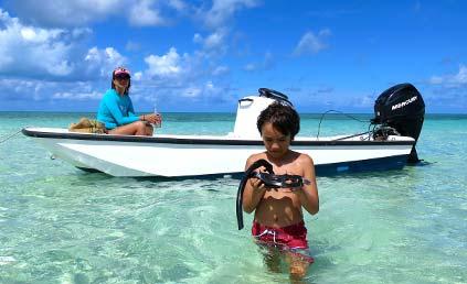 Snorkel trips by boat