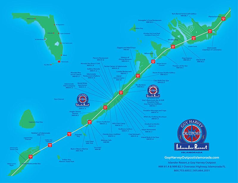 GHO Islamorada Map