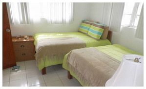 Comfortable rooms at Chester's Highway Inn lodge