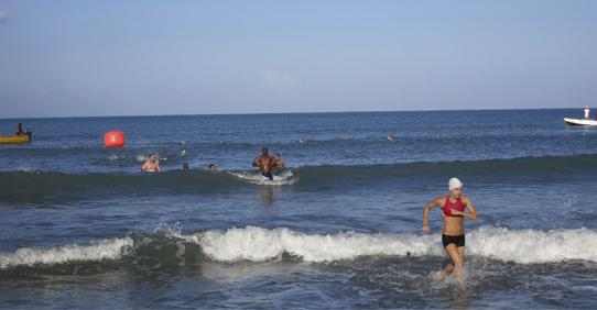 Fun in Beach at Jakes Hotel, Jamaica