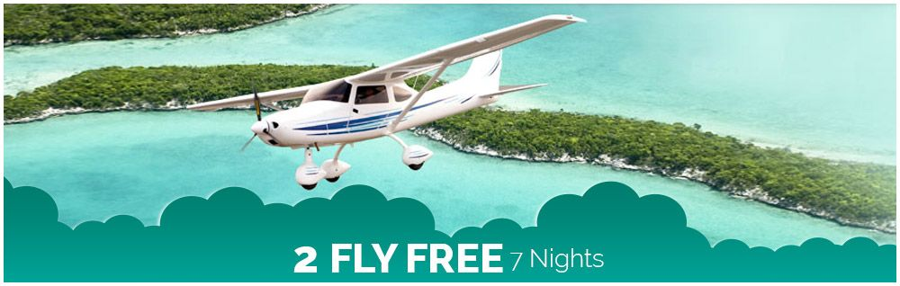 2 Fly Free - 7 Nights