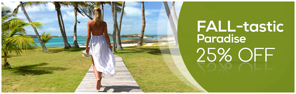 25% offer + Fly Free on 2 Nights Minimum Stay